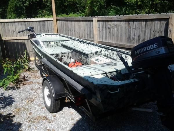 duck boat for sale in millbrook alabama classified. Black Bedroom Furniture Sets. Home Design Ideas