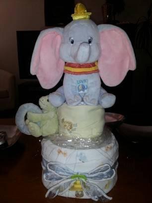 【ツ】dumbo Diaper Cake 【ツ】 For Sale In Aurora Colorado