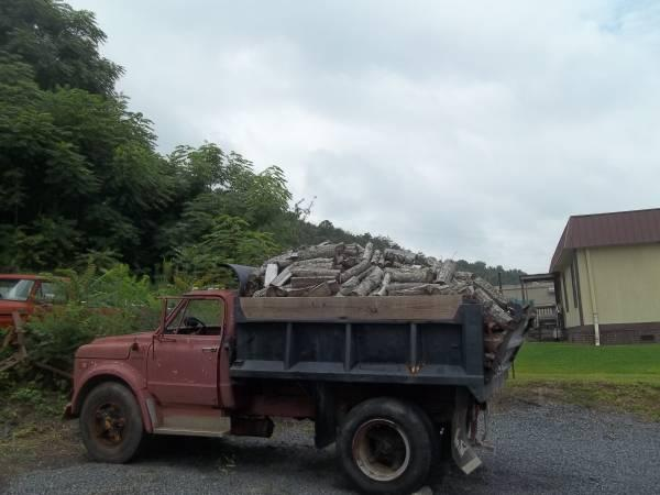 Dump truck full of Firewood - $300
