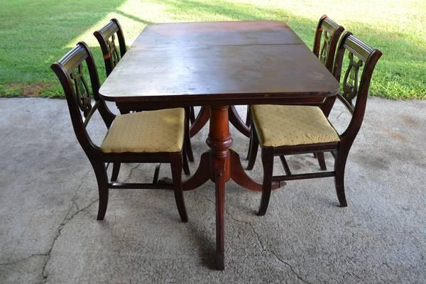Duncan Phyfe Dining Table Classifieds   Buy U0026 Sell Duncan Phyfe Dining Table  Across The USA   AmericanListed
