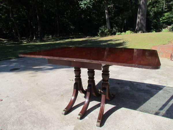 Duncan Phyffe style dining table - $135
