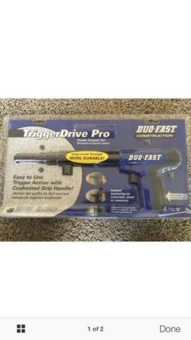 Duo Fast Trigger Tool Concrete Gun