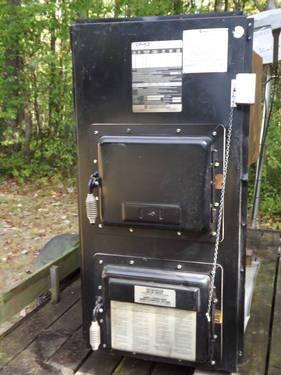 Duomatic Olsen Oil Fired Furnance Model Cwo B140 For Sale
