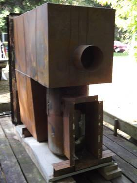 Duomatic Olsen Oil Fired Model Cwo B140 Warm Air Used