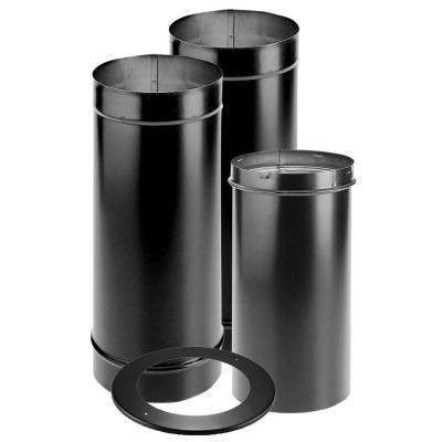 Duravent Durablack 4 In Single Wall Chimney Stove Pipe