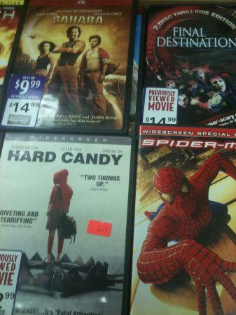 DVD MOVIES (d.v.d.with cases) - $4 (Southwest Houston)