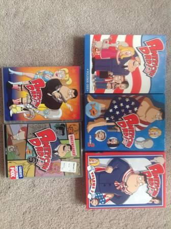 DVD's -- Box Sets -- Family Guy, American Dad,