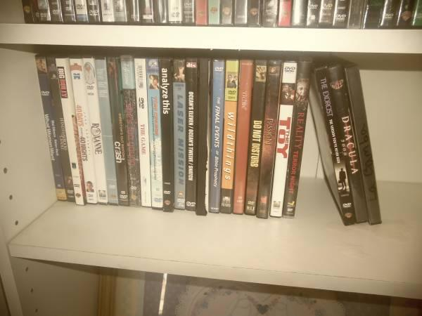 DVD'S FOR SALE - $300