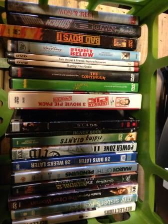 DVDs $2 each - $2
