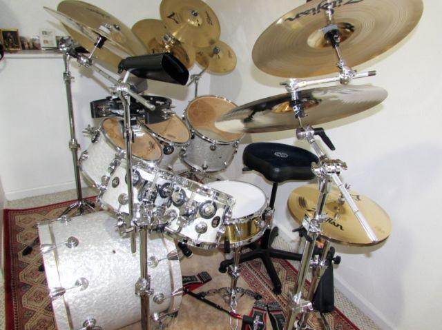 DW Collectors Series 7 Piece Drum Set In Immaculate