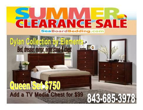 Dylan By Elements Bedroom Set Container Special For Sale