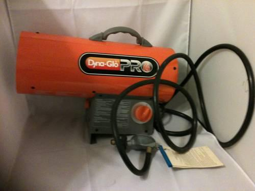 Dyna Glo Pro Propane Heater 40 000 Btu Forced Air For