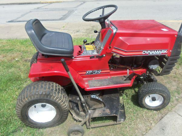 Dynamark Lawn Tractors : Dynamark riding mower connellsville pa for sale in
