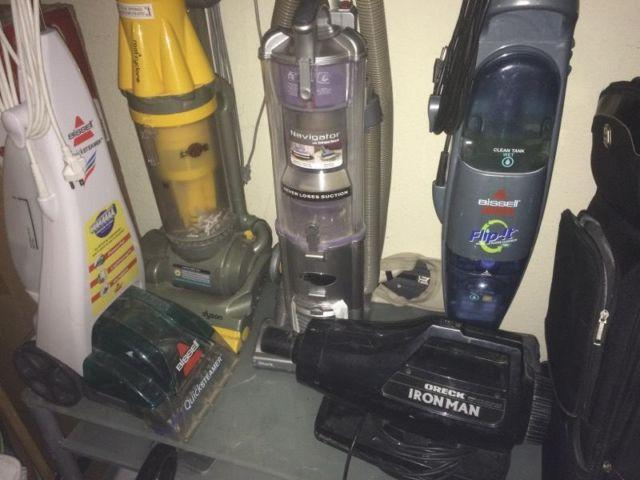 Dyson Shark Bissell All Clean And Work Great For Sale In