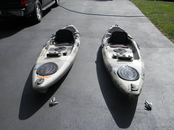 Eagle Talon 12 Fishing Kayaksit On Top By Field And Stream For