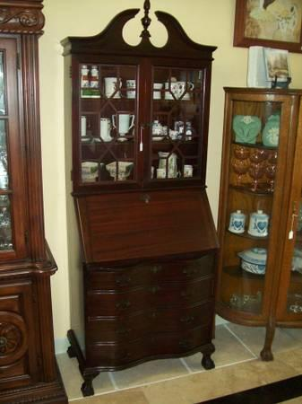 Early 1900 S Antique Secretary Desk For Sale In Stuart