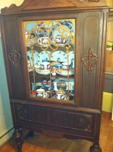 Early 1900 S China Cabinet Fayetteville For Sale In