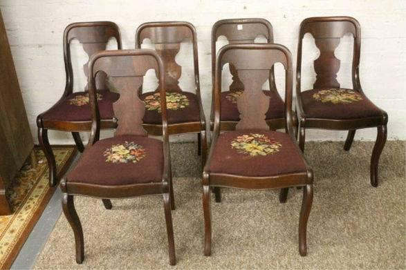 Early Craftique L. P. Best Fiddle Back Chairs RARE!