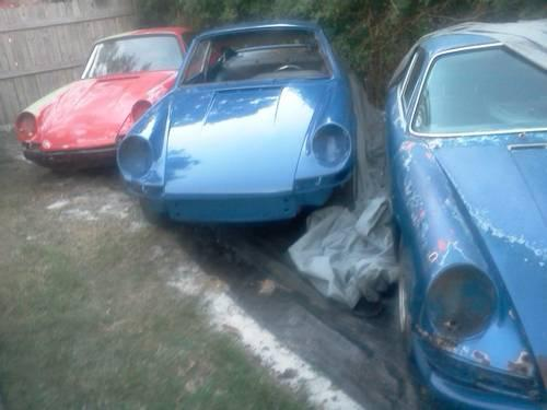 Early Porsche Rollers And Project Cars For Sale In West