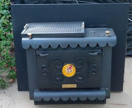 LARGE WOOD STOVES - Stoves and ovens