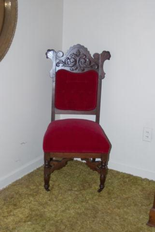East Lake Parlor Set (settee & chair), Cira 1880 & More