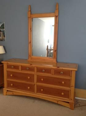 Bedroom Set Real Wood