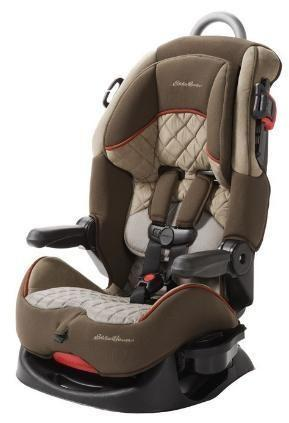 Eddie Bauer Deluxe High Back Car Seat Seaside For Sale
