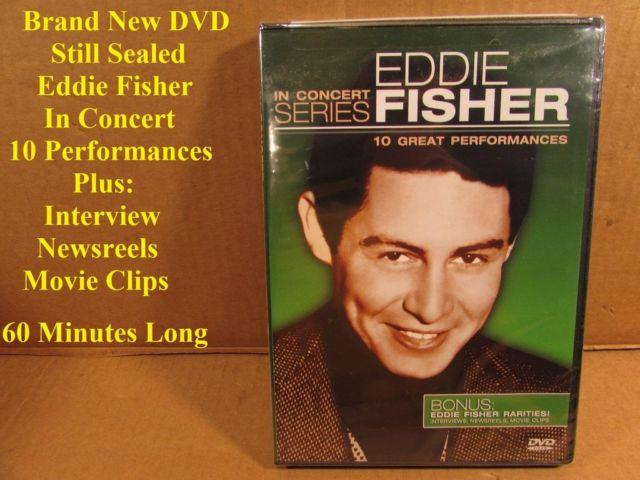Eddie Fisher DVD brand new still sealed