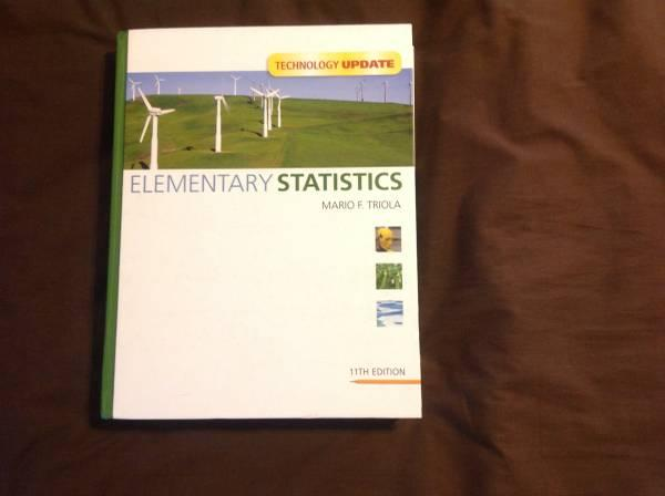 EFSC Statistics book and Solutions Manual - $50