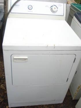 Electric Clothes Dryer Crosley White Color For Sale In