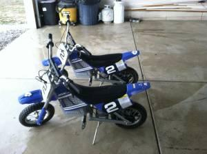 Electric Dirt Bikes (2) - $150 (Ostrander)