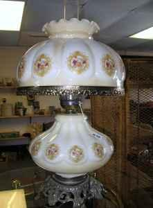 Electric Lamp-Looks like oil lamp - $50 (Pomona Lake)