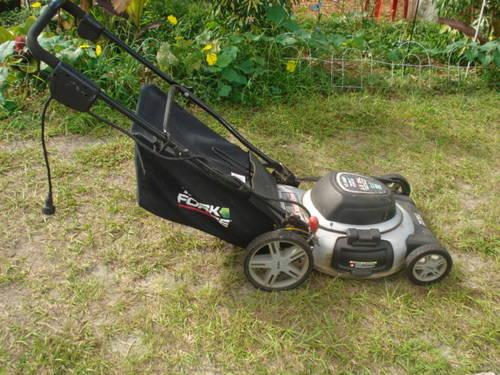 Electric Push Lawn Mower 20 Inch Cut For Sale In Saint