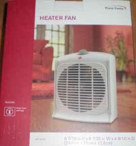 Electric Room / Space Heater with Fan - 3 heat settings