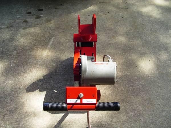 Electric trailer tow dolly rv boat trailer power for Motorized boat trailer mover