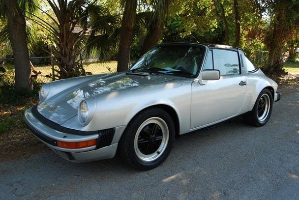 Electric 1986 Porsche 911 Targa For Sale In West Palm