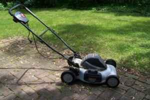 Task Force Electric Push Mower Garden Equipment
