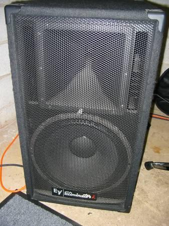 Electro Voice Ev Eliminator I 15 Quot Pa Speakers For Sale