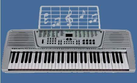 ELEGANCE 61 KEY ELECTRONIC KEYBOARD – AC OR BATTERY POWERED