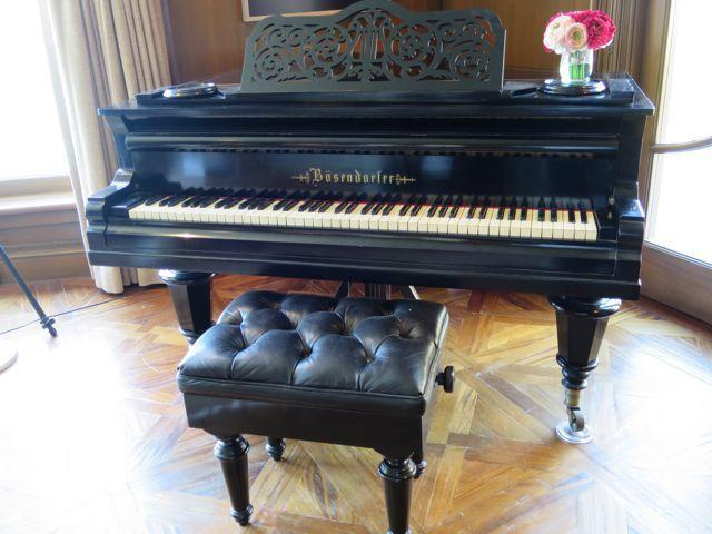 Elegant, Space-Saving Ludwig Bosendorfer Of Vienna 19th