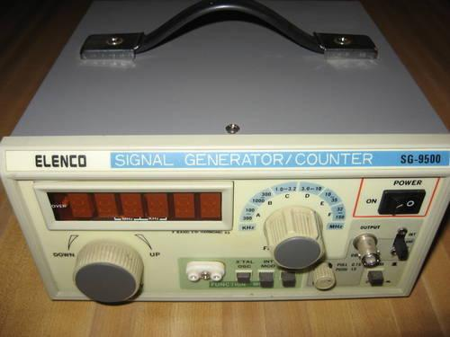 ELENCO SG-9500 SIGNAL GENERATOR / FREQUENCY COUNTER