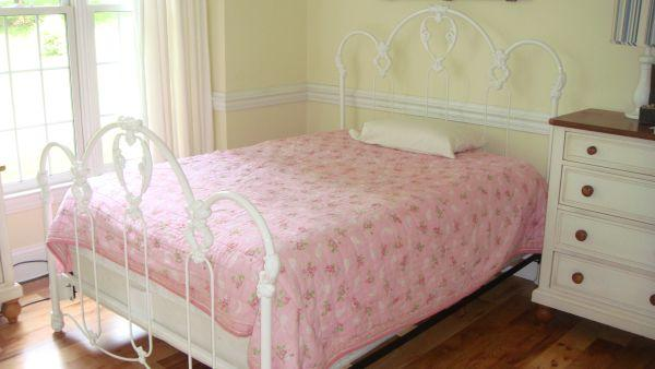 elliot designs high quality iron heirloom romance full bed new arden for sale in asheville