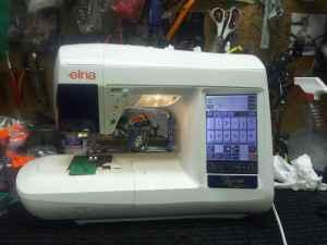 Elna Xquisit 9010 Embroidery Machine Coeurd Alene For