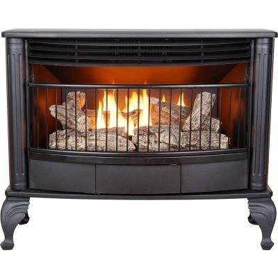 Emberglow 25 000 Btu Vent Free Dual Fuel Gas Stove With Thermostat For Sale In Jacksonville