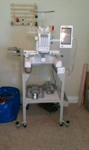 babylock 6 needle embroidery machine for sale
