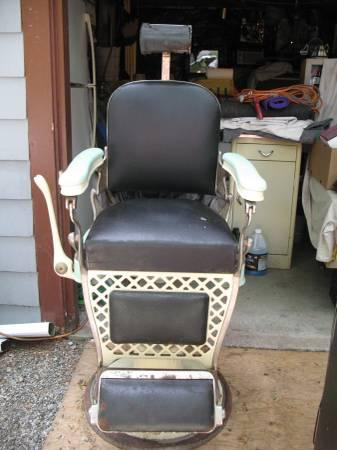 Emil J Paidar Barber Chair Must Sell For Sale In