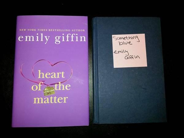 Emily Giffin books - $6