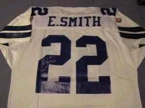 EMMITT SMITH & MARION BARBER DALLAS COWBOYS SIGNED NEW JERSEYS for  ma67Q0R7