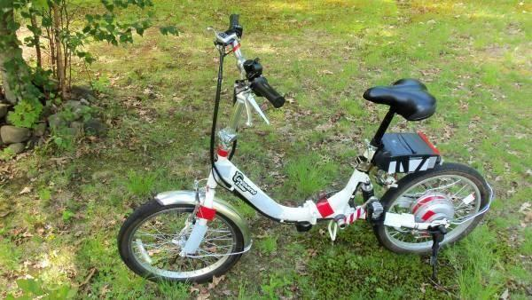 Empowered Agilis E-Bike. (Electronic folding Bike )