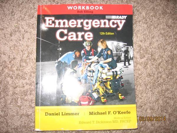 EMT Book set. Brady 12th Edition - for Sale in Yuba City ...
